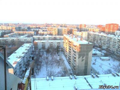 челябинск вид из окна квартиры посуточно